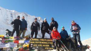 Manaslu Larke pass trek