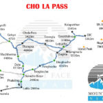 Cho la Pass Trek Route Map