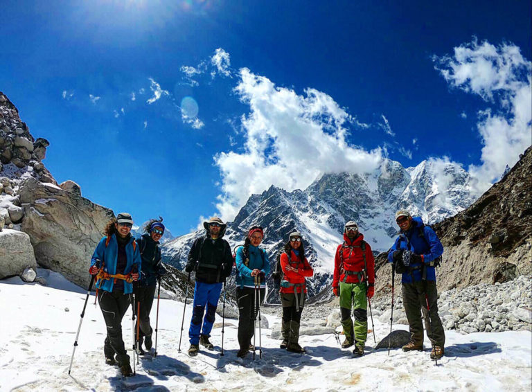 everest base camp trek with gokyo lake and cho la pass trek