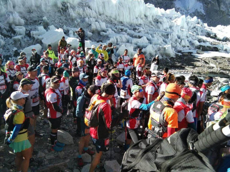 everest marathon in Nepal