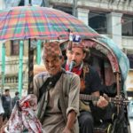 kathmandu by rickshaw