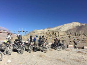 mustang bike tour