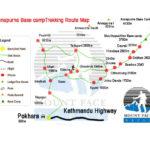 Annapurna Base Camp Trek Route Map